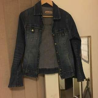 Denim Jacket (Blockout)