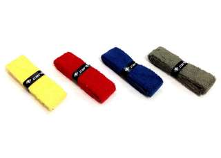 Yonex Badminton Towel Grips in Red, Blue and Black