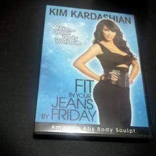 Kim Kardashian Fit In Your Jeans DVD