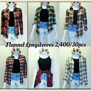 FLANNEL LONGSLEEVES