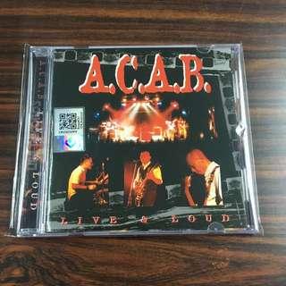 CD A.C.A.B - Live & Loud