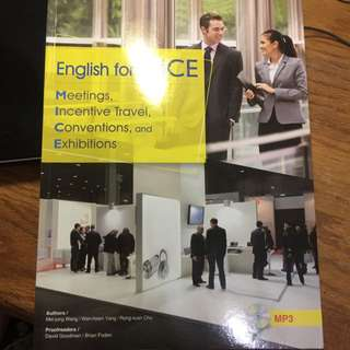 English for MICE 會展英文用書