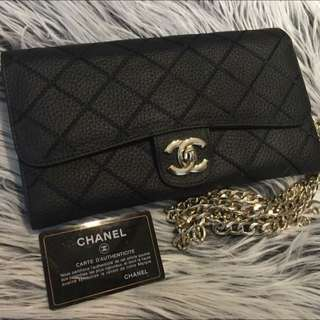 PENDING PICK UP Chanel Woc Wallet Clutch Bag