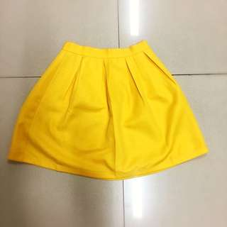 Yellow Summer Skirt