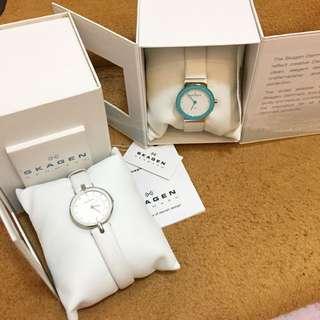 Preloved Skagen Watch With Diamonds