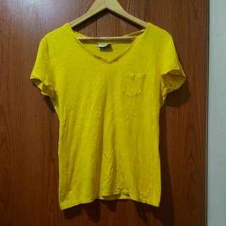 GRAB A TEE Yellow TShirt