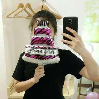 Birthday Cake Foil Baloon