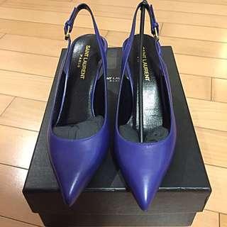 Saint Laurent sling back heels
