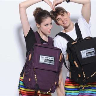 Purple MCYS&JPN Backpack
