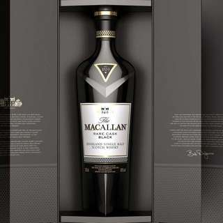 Macallan rare cask black & whiskey maker's edition