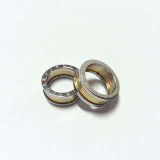 Bvlgari B Zero1 Gold And Silver Ring