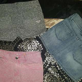 Roxy' denim clothesX3