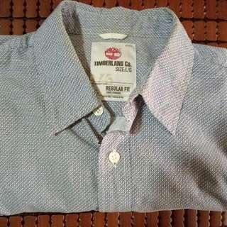 Timberland短袖男襯衫