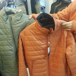 PB 防潑水毛衣外套 (橘,灰,褐)