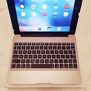 Aluminium Bluetooth LED Keyboard With Charger For iPadAIR2 ***re-priced***