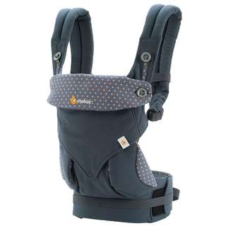 Ergobaby 360 (Dusty Blue/Moonstone/Pure Black/Green)
