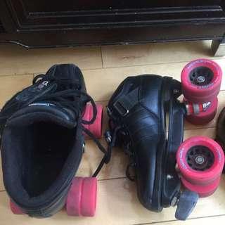 Roller Derby Quad Skates