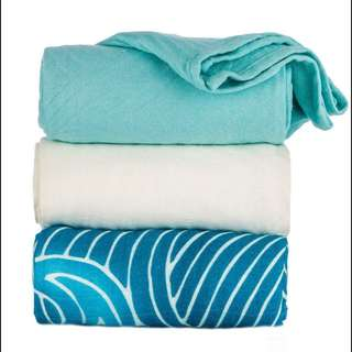 Brand New Unrolled Waves Tula Blanket