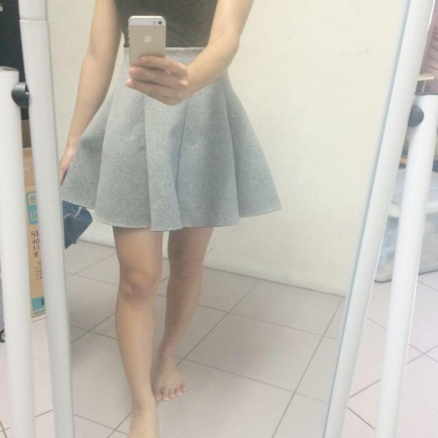 灰色太空裙