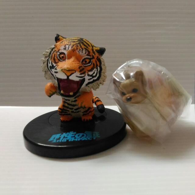 老虎+約克夏 扭蛋