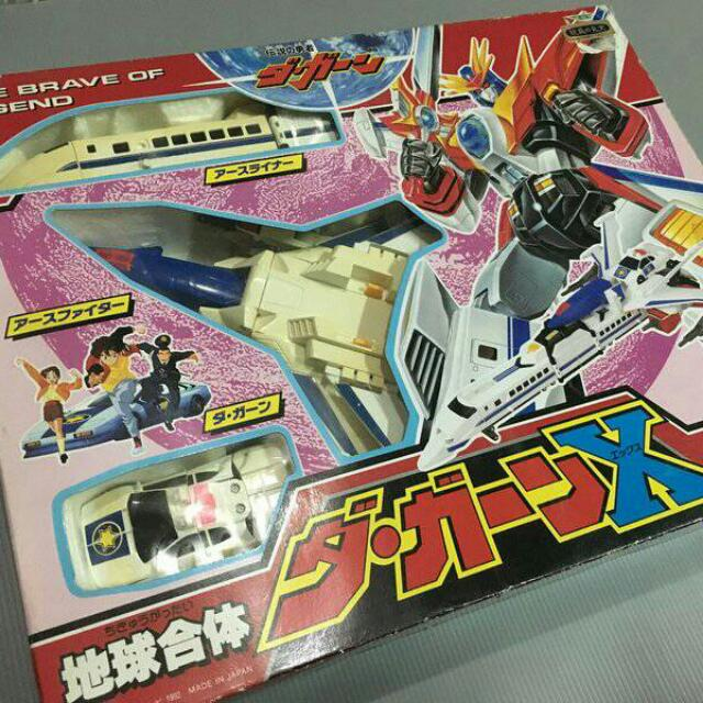 缺貨中~懷舊玩具 勇者傳說 傳說雷霆達鋼號X 二手