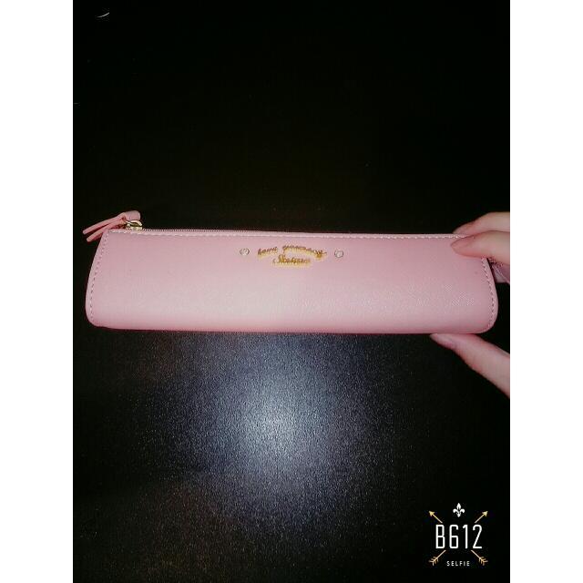 東京企劃 Saime 鉛筆盒 粉