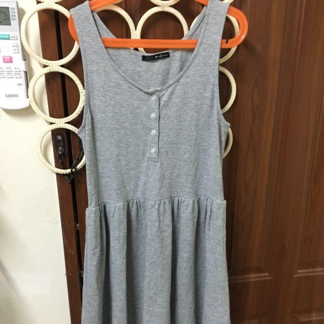 Archive 灰色洋裝 Muji