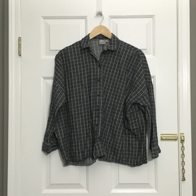 Asos Oversized Grid Shirt