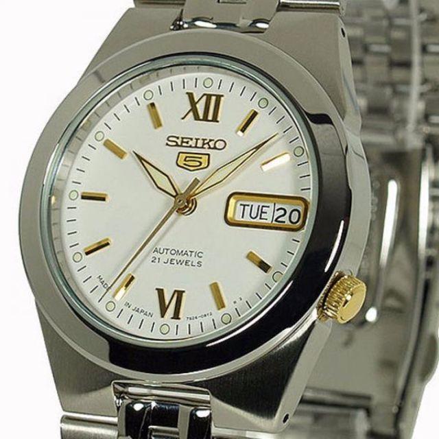 Authentic & Brand New Seiko 5 Automatic Watch UNISEX 21Jewels