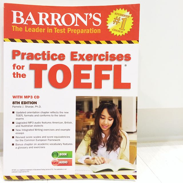 Barron's Practice Exercise For TOEFL