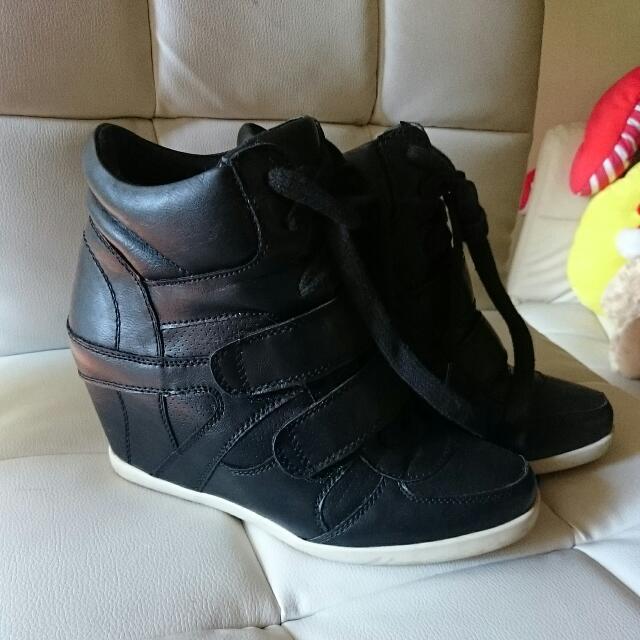 Black Rubber Shoes Boots