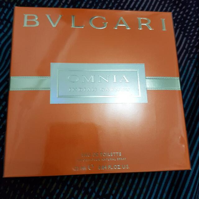 Authentic Bulgari Omnia Indian Garnet Eau De Toilette 25ml - Free Shipping