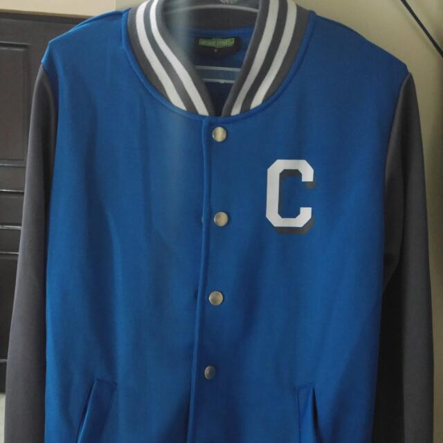 Cookie Monster Varsity Jacket