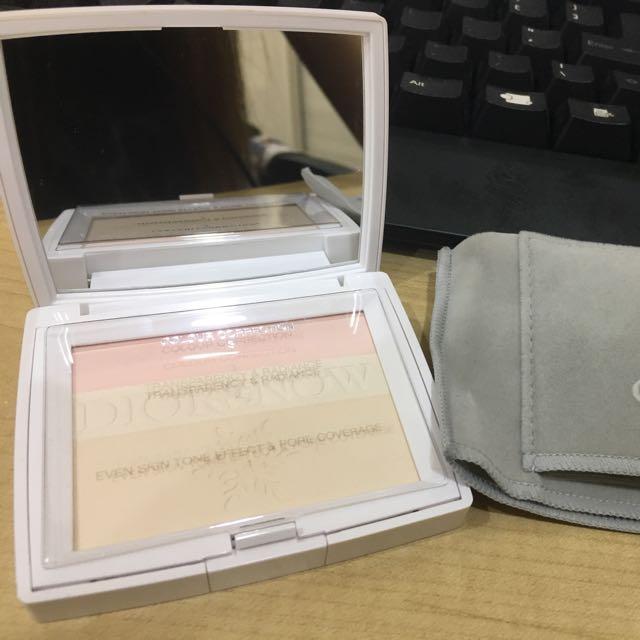 (已出售)Dior 雪晶靈蜜粉餅 9成新