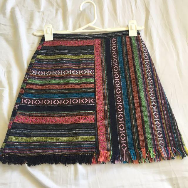 Dotti Pattern Tribal Aztec Skirt