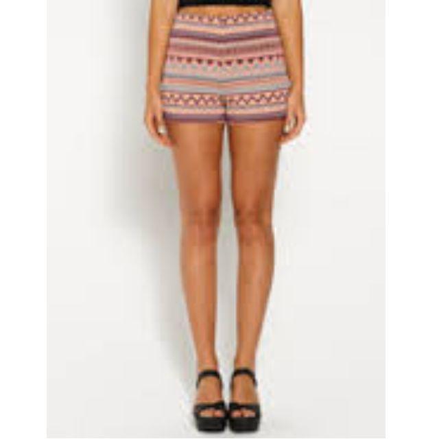 Dotti size 8 summer festival shorts