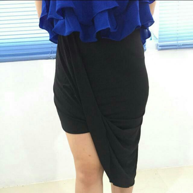 Drapped Skirt