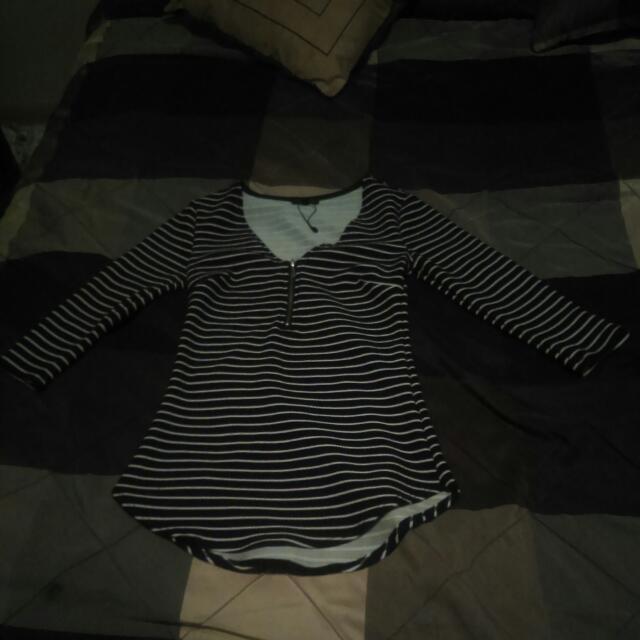 Dynamite Quarter Sleeve Shirt