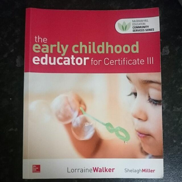 Early Childhood Educator For Certificate III