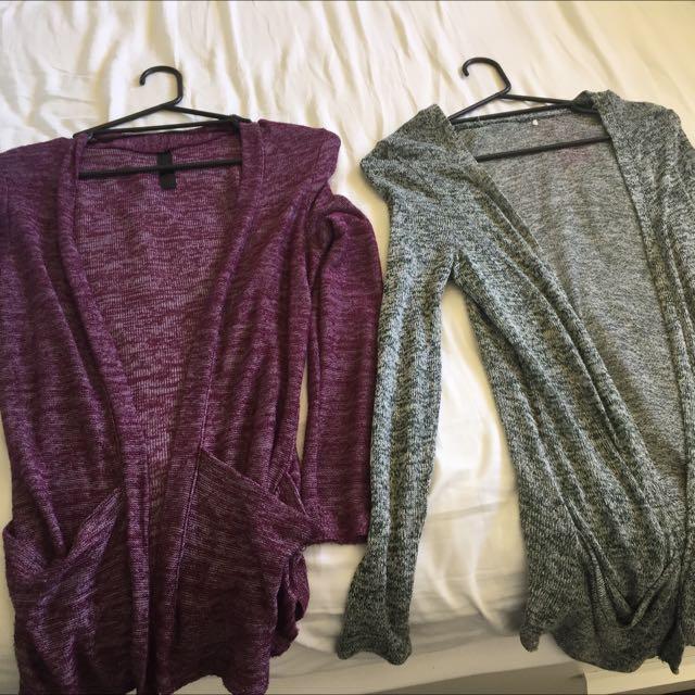 Factorie Long Knit Cardigans