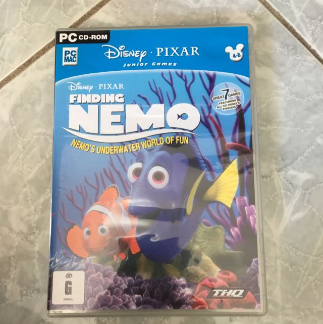 Finding Nemo- Nemo's Underwater World Of Fun Pc Game