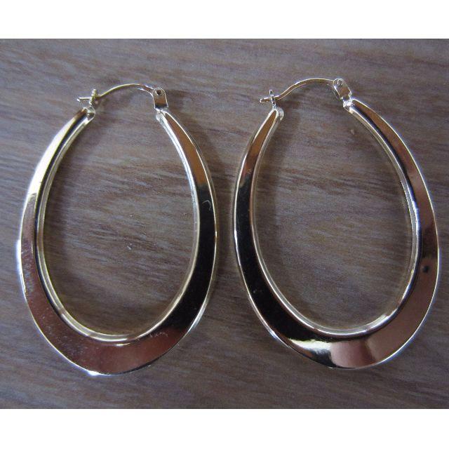Gold hoop Earrings (4004)