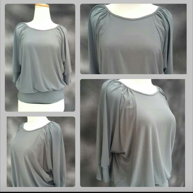 Gorgeous Grey Blouse