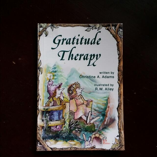 Gratitude Therapy Pocket Booklet