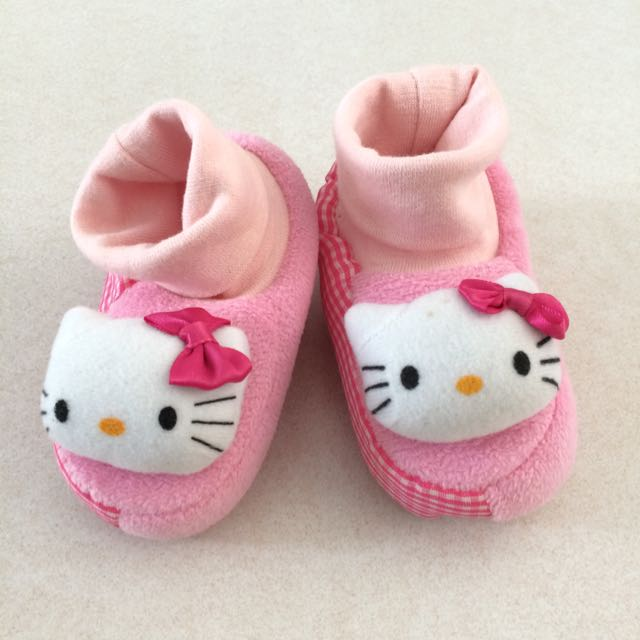 ca1934a8a Hello Kitty Baby Girl Shoes Socks, Babies & Kids, Babies Apparel on ...