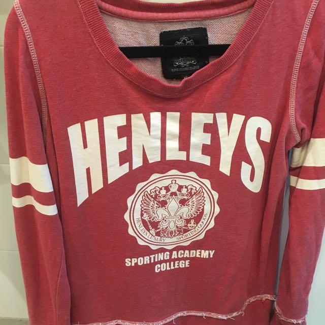 Henley jumper Size Xs