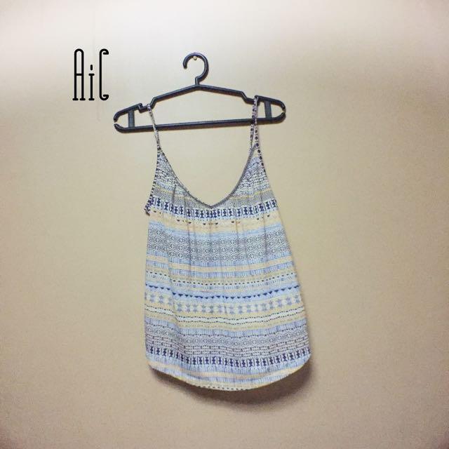 H&M Aztec printed tops