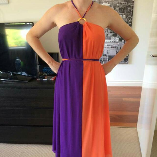 Honey And Beau Maxi Dress Size 8