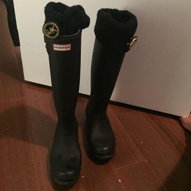 Hunter Boots Tall & MK Liner