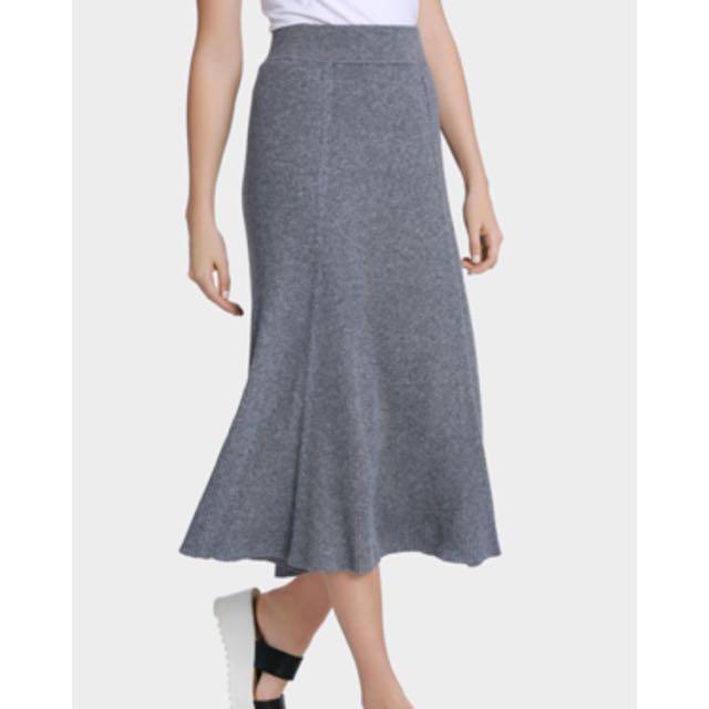 Interval Knit Skirt